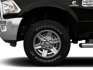 2013 Ram 2500 Pictures 2500 Mega Cab Limited 2WD photos wheel