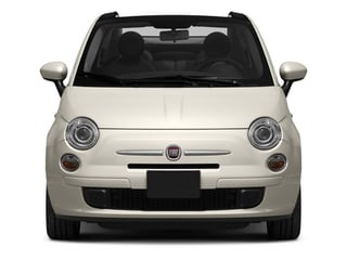 2013 FIAT 500 Pictures 500 Convertible 2D Lounge I4 photos front view