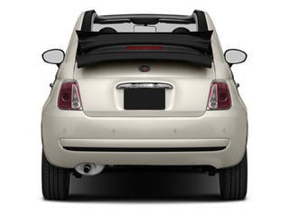 2013 FIAT 500 Pictures 500 Convertible 2D Lounge I4 photos rear view