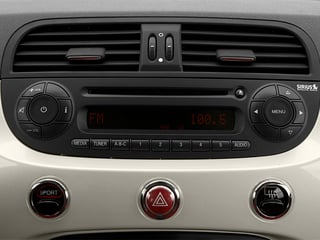 2013 FIAT 500 Pictures 500 Convertible 2D Lounge I4 photos stereo system