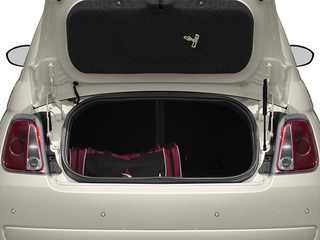 2013 FIAT 500 Pictures 500 Convertible 2D Lounge I4 photos open trunk