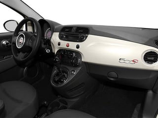 2013 FIAT 500 Pictures 500 Convertible 2D Lounge I4 photos passenger's dashboard