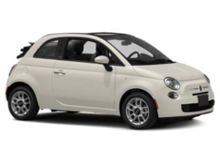 2013 FIAT 500 Pictures 500 Convertible 2D Lounge I4 photos side front view