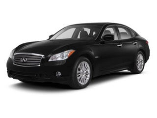 2013 INFINITI M35h Pictures M35h Sedan 4D V6 Hybrid photos side front view