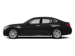 2013 INFINITI M35h Pictures M35h Sedan 4D V6 Hybrid photos side view