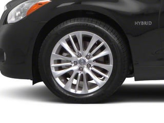 2013 INFINITI M35h Pictures M35h Sedan 4D V6 Hybrid photos wheel
