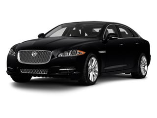 2013 Jaguar XJ Pictures XJ Sedan 4D L Portfolio AWD V6 photos side front view