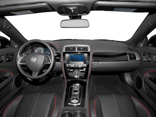 2013 Jaguar XK Pictures XK Convertible XKR-S Supercharged photos full dashboard