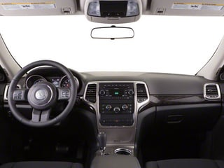 2013 Jeep Grand Cherokee Pictures Grand Cherokee Utility 4D Overland 4WD photos full dashboard