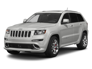 2013 Jeep Grand Cherokee Pictures Grand Cherokee Utility 4D SRT-8 4WD photos side front view