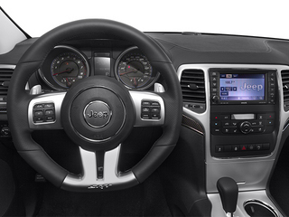 2013 Jeep Grand Cherokee Pictures Grand Cherokee Utility 4D SRT-8 4WD photos driver's dashboard