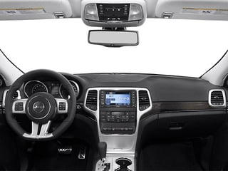 2013 Jeep Grand Cherokee Pictures Grand Cherokee Utility 4D SRT-8 4WD photos full dashboard