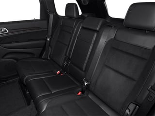 2013 Jeep Grand Cherokee Pictures Grand Cherokee Utility 4D SRT-8 4WD photos backseat interior