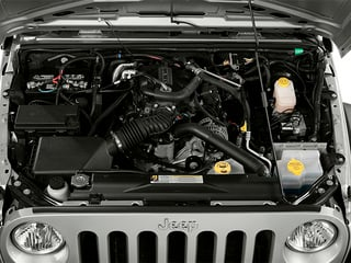 2013 Jeep Wrangler Unlimited Pictures Wrangler Unlimited Utility 4D Unlimited Sahara 4WD photos engine