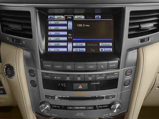 2013 Lexus LX 570 Pictures LX 570 Utility 4D 4WD photos stereo system