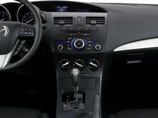 2013 Mazda Mazda3 Pictures Mazda3 Wagon 5D s GT I4 photos center console