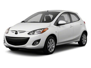 2013 Mazda Mazda2 Pictures Mazda2 Hatchback 5D Touring I4 photos side front view
