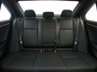 2013 Mercedes-Benz C-Class Pictures C-Class Sport Sedan 4D C250 photos backseat interior