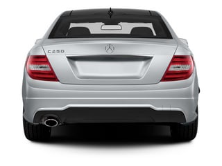 2013 Mercedes-Benz C-Class Pictures C-Class Coupe 2D C250 photos rear view