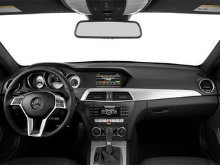 2013 Mercedes-Benz C-Class Pictures C-Class Coupe 2D C250 photos full dashboard