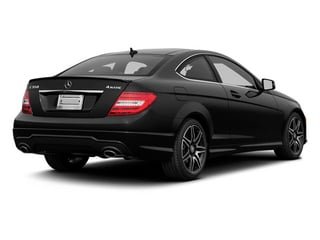 2013 Mercedes-Benz C-Class Pictures C-Class Coupe 2D C350 AWD photos side rear view