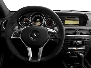 2013 Mercedes-Benz C-Class Pictures C-Class Coupe 2D C63 AMG photos driver's dashboard