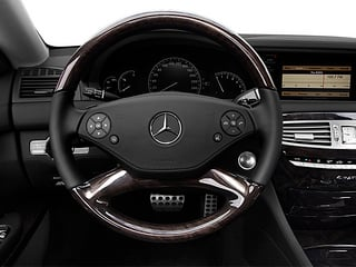2013 Mercedes-Benz CL-Class Pictures CL-Class Coupe 2D CL600 photos driver's dashboard