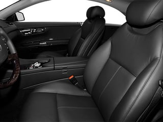 2013 Mercedes-Benz CL-Class Pictures CL-Class Coupe 2D CL63 AMG photos front seat interior