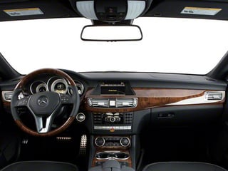 2013 Mercedes-Benz CLS-Class Pictures CLS-Class Sedan 4D CLS550 AWD photos full dashboard