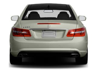 2013 Mercedes-Benz E-Class Pictures E-Class Coupe 2D E550 photos rear view