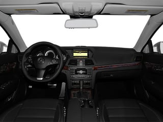 2013 Mercedes-Benz E-Class Pictures E-Class Coupe 2D E550 photos full dashboard