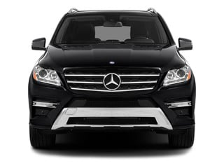 2013 Mercedes-Benz M-Class Pictures M-Class Utility 4D ML550 AWD photos front view