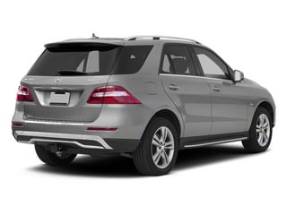 2013 Mercedes-Benz M-Class Pictures M-Class Utility 4D ML350 BlueTEC AWD photos side rear view