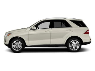 2013 Mercedes-Benz M-Class Pictures M-Class Utility 4D ML350 AWD photos side view