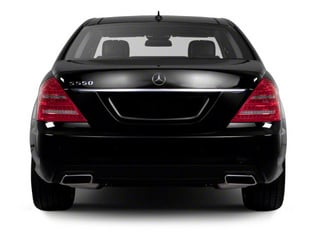 2013 Mercedes-Benz S-Class Pictures S-Class Sedan 4D S550 photos rear view