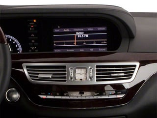 2013 Mercedes-Benz S-Class Pictures S-Class Sedan 4D S550 photos stereo system
