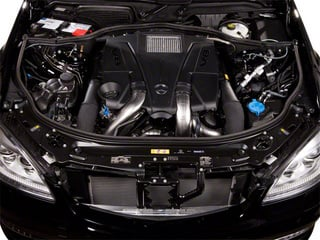 2013 Mercedes-Benz S-Class Pictures S-Class Sedan 4D S400 Hybrid photos engine