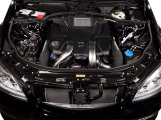 2013 Mercedes-Benz S-Class Pictures S-Class Sedan 4D S550 photos engine