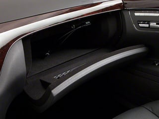 2013 Mercedes-Benz S-Class Pictures S-Class Sedan 4D S400 Hybrid photos glove box