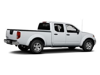2013 Nissan Frontier Pictures Frontier Crew Cab S 4WD photos side rear view