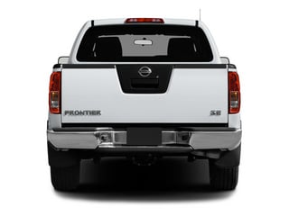 2013 Nissan Frontier Pictures Frontier Crew Cab S 4WD photos rear view