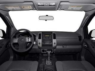 2013 Nissan Frontier Pictures Frontier Crew Cab S 4WD photos full dashboard