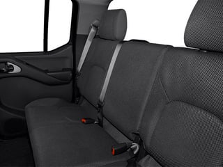 2013 Nissan Frontier Pictures Frontier Crew Cab S 4WD photos backseat interior