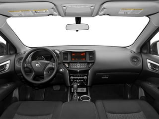 2013 Nissan Pathfinder Pictures Pathfinder Utility 4D SL 2WD photos full dashboard