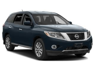 2013 Nissan Pathfinder Pictures Pathfinder Utility 4D SL 2WD photos side front view