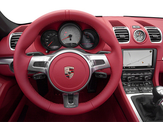 2013 Porsche Boxster Pictures Boxster Roadster 2D S photos driver's dashboard