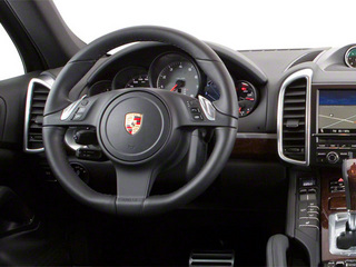 2013 Porsche Cayenne Pictures Cayenne Utility 4D S AWD (V8) photos driver's dashboard