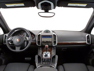 2013 Porsche Cayenne Pictures Cayenne Utility 4D S AWD (V8) photos full dashboard