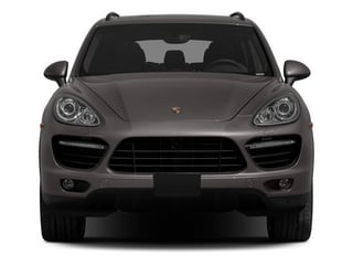 2013 Porsche Cayenne Pictures Cayenne Utility 4D Turbo AWD (V8) photos front view