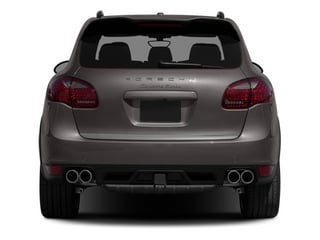 2013 Porsche Cayenne Pictures Cayenne Utility 4D Turbo AWD (V8) photos rear view